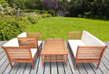 Comment traiter un salon de jardin en eucalyptus ?
