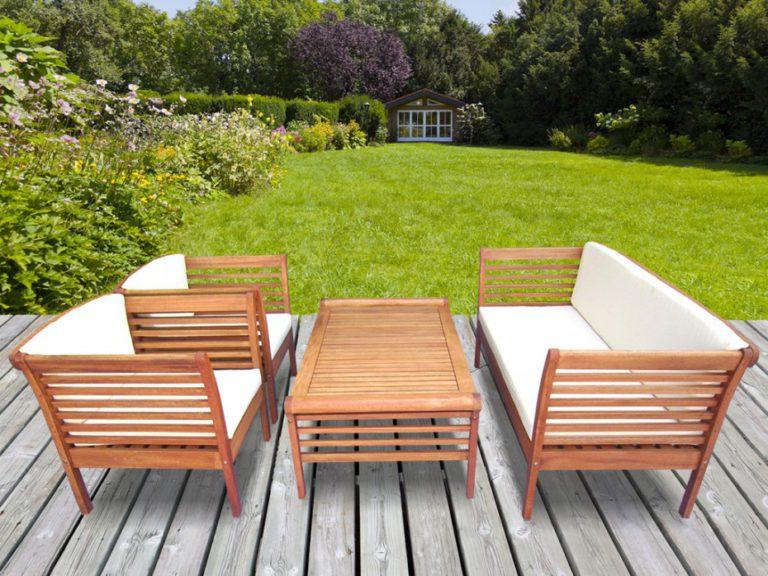 comment traiter un salon de jardin en eucalyptus. Black Bedroom Furniture Sets. Home Design Ideas