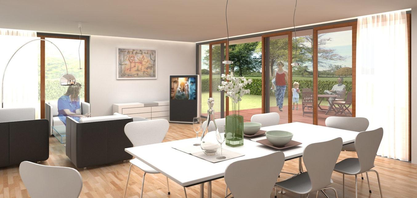 Une maison fonctionnelle et esthétique
