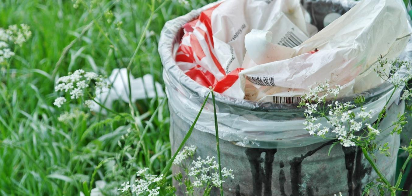 Une poubelle à la fois design et fonctionnelle